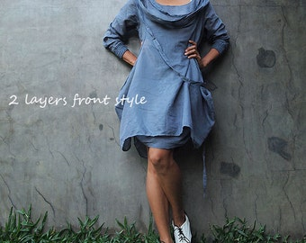 Mystical night dress... Blue/Gray (S,M,L, XL,XXL)