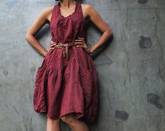 Alexis dress...Dark red mix silk XL,XXL,XXXL available in all colour