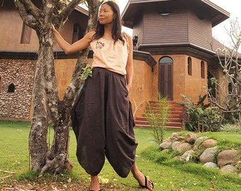 Origami long lounge pants ...All Color 100% cotton  (M,L,XL) 1170