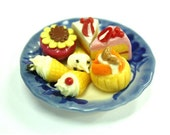 Miniature Foods Polymer Clay Crafts Supplies for Dollhouse