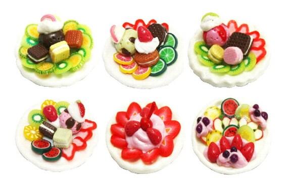 Miniature Foods MAGNET Collection, 6 pcs.