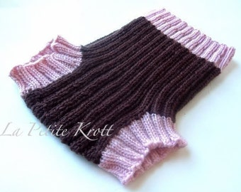 THE RIBBIE PATTERN -- One Size Fits Most Knit Wool Soaker