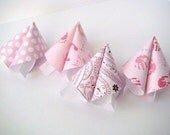 Girl Baby Shower - Origami Fortune Cookies - Set of 25