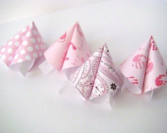 Origami Fortune Cookies Black and White by OrigamiDelights - photo#38