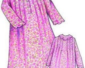 Childs Prairie Rose Nightgown Pattern