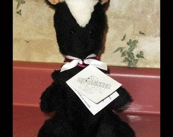 Plush toy, plush animal, Plush Skunk, Poem - Lil' Stinker