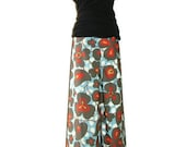 Samurai PANTS - Amy Butler - Morning Glory - Made in ANY Size - Boutique Mia