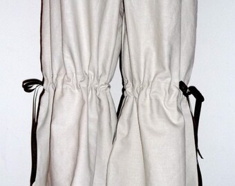 Vintage Style Samurai PANTS - Scandinavian - Linen Mix - Made in ANY Size - Boutique Mia