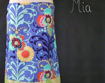 Pencil SKIRT - Amy Butler - Made in ANY Size - Boutique Mia