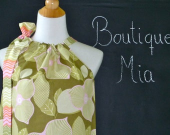 Pillowcase DRESS or TOP - Amy Butler - You Pick the Size - Junior, Adult and Plus size - Boutique Mia by CXV