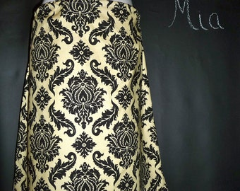 A-line SKIRT - Joel Dewberry - Damask - Made in ANY Size - Boutique Mia