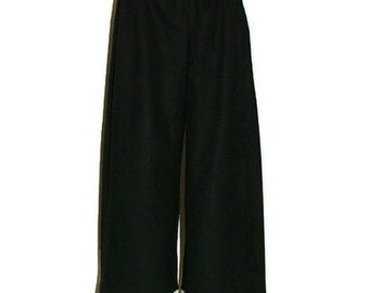 Samurai PANTS - Linen mix - Made in ANY Size - Boutique Mia
