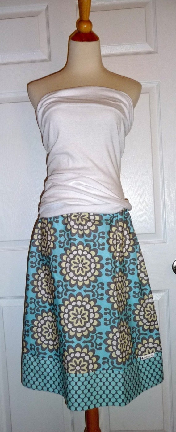 WOMEN - Aline SKIRT - Amy butler - Wallpaper - You Pick the Size - Junior, Adult and Plus size - Boutique Mia by CXV