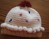 Cupcake beanie - Adult size
