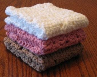 Neopolitan Washcloth or dishcloth set
