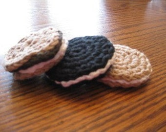 Crochet Play food Desserts  6 of your choice