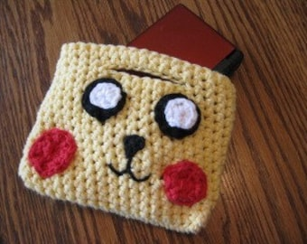 Pikachu Inspired Nintendo DS Cover