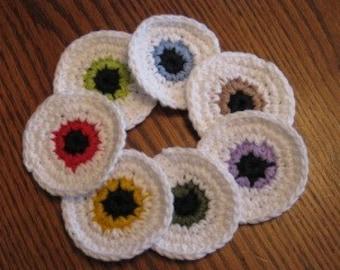 7pc Eyeball scrubbie set