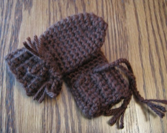 Thumbless Infant Mittens