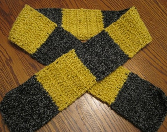 Harry Potter's Hufflepuff inspired colors, Super Soft Scarf