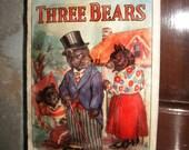 SALE  Three Bears Vintage Book
