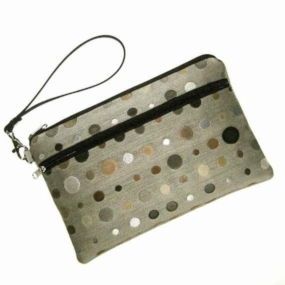 KINDLE Fire Case Cover Bag Zipper Pouch - Padded Case with Detachable Wristlet Strap