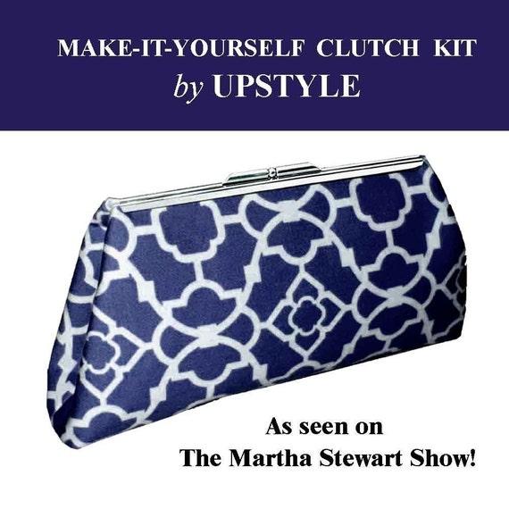Clutch Purse Kit Blue - As Seen on The Martha Stewart Show
