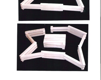 Wood Folding Fence
