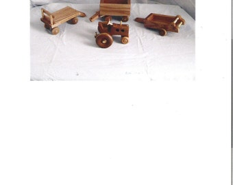 4 Pc. Wooden Farm Set