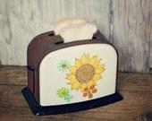 Vintage Toy Toaster with Felt Toast
