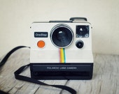 Classic One Step Polaroid Land Camera -- WORKS