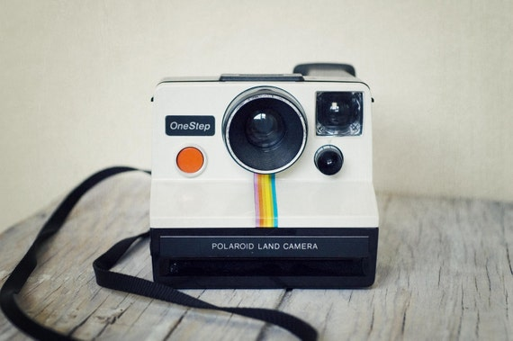 Classic One Step Polaroid Land Camera -- WORKS