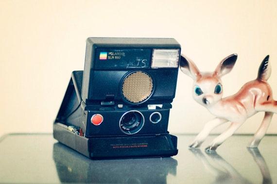 Film Tested Polaroid 680 SLR Folding Land Camera