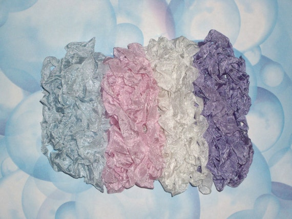 Hand Crinkled Seam Binding-Bubblicious