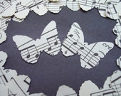 Sheet Music Butterflies Wedding Party Decor