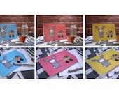 Rabbit Baby Greeting Card Set - Blank