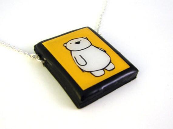 Polar Bear Necklace