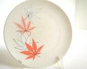 Retro Dishes Texas Ware Melamine Vintage Japanese Maple Dessert Plates for 2