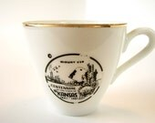 Vintage Kansas Centennial Tea Cup Retro Dishes