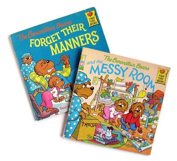 Messy Room Garbage: Berenstain Bears FORGET THEIR MANNERS And THE By Bythewayside