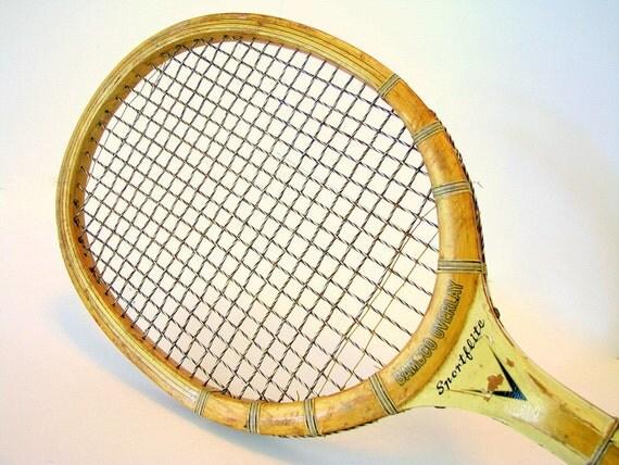 Vintage Tennis Racket Sears Sportflite