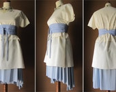 Perfect - Women Outfit in Sky Blue / Lilac and Ivory