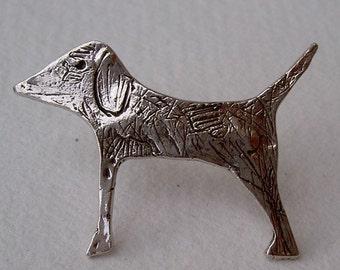 Broche perrito/Little dog brooch