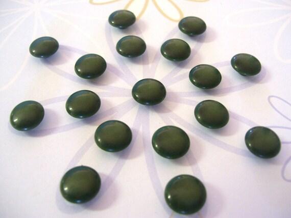 Little Green Vintage Buttons