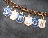 Souvenir Charm Bracelet London HS Football B2632