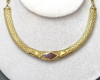 Egyptian Revival Collar Necklace MMA 1977 N3970