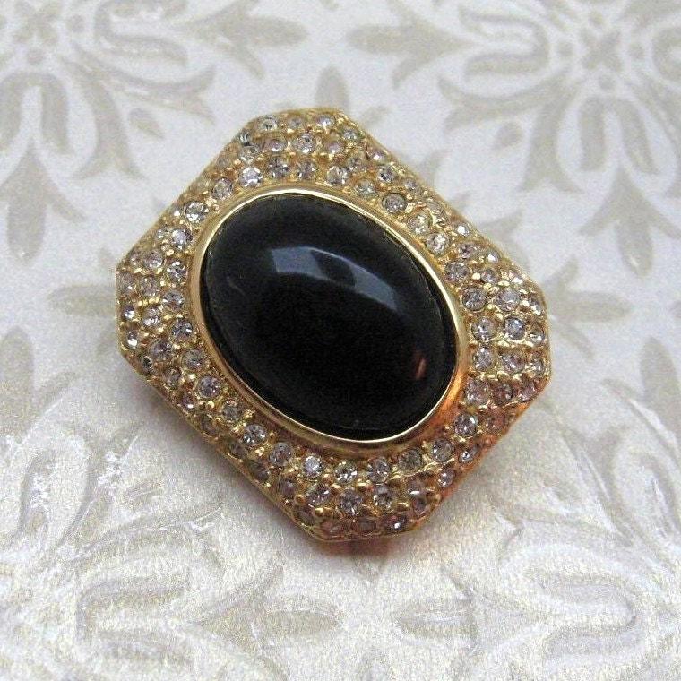 Bijoux Vintage Christian Dior : Vintage earrings christian dior bijoux germany mint in box er