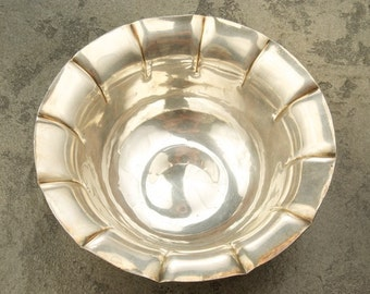 Silver Fluted Bowl SALE was 300