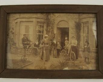 "Circa 1800s ""Family Portrait"" SALE was 75"