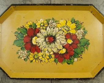 Vintage Tole Tray by Nashco